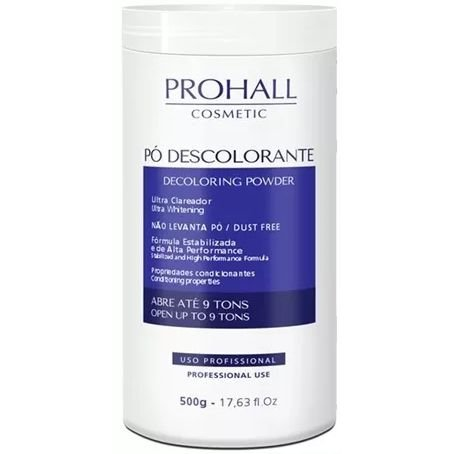 Prohall Pó Descolorante Decoloring Powder 500g