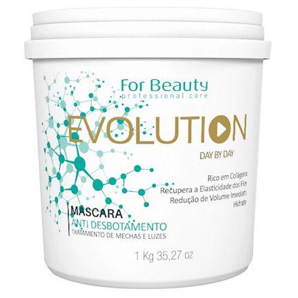 For Beauty Evolution Máscara Anti Desbotamento 1kg