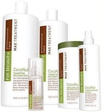 For Beauty Max Treatment Coconut (5 itens)