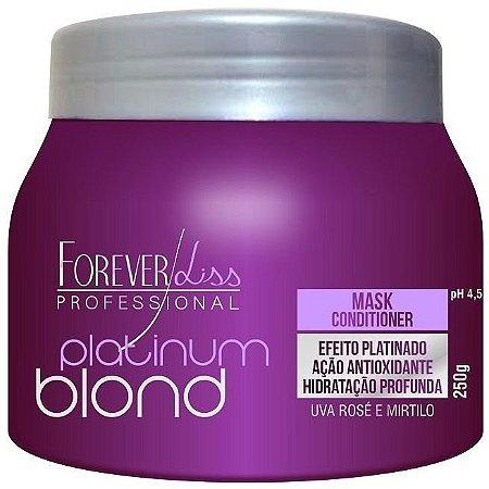 Forever Liss Platinum Blond Máscara Matizadora 250g