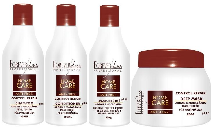 Forever Liss Kit Home Care Pós Progressiva (4 itens)