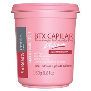 For Beauty Argan Capilar Matizador Max Illumination Platinum 250g