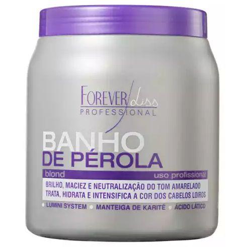 Forever Liss Banho de Pérola Loiro Brilhante Máscara 1kg