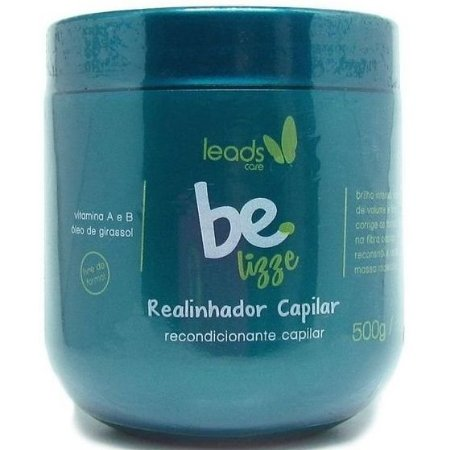 Leads Care Realinhador Capilar Be Lizze 500g