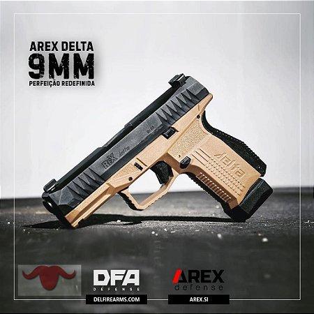 Pistola DFA Arex Delta 9mm  Mod. FDE