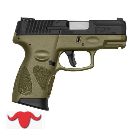 PISTOLA G2C COLORS - 9 MM COR  OD GREEN
