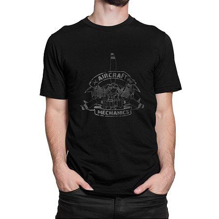 Camiseta Mecânico de Aeronaves
