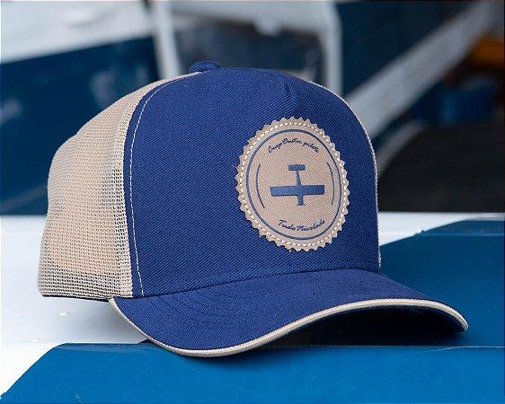 Boné  Cropdusting Azul