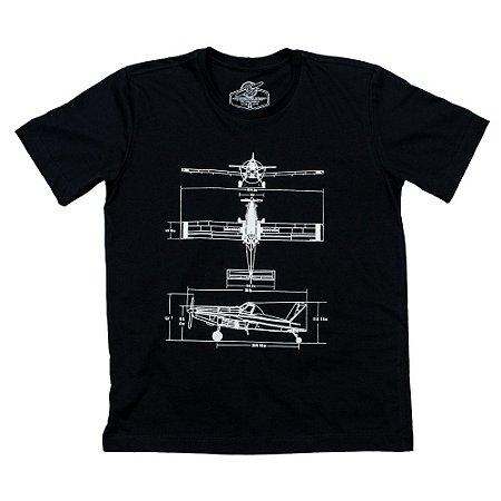 Camiseta Airtractor Project Preta