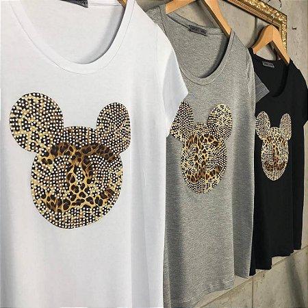 T-Shirt Mickey Oncinha