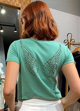 T-Shirt Asinhas Costas