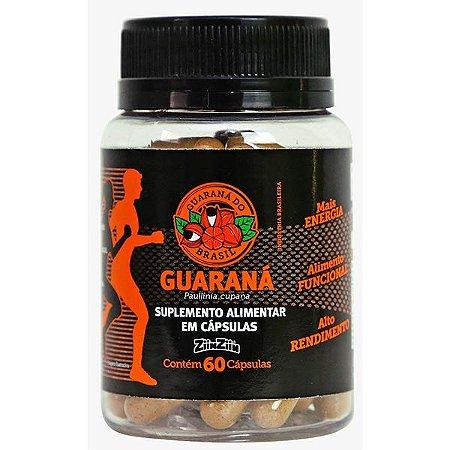 Guarana em capsula - Frasco com 60 Caps