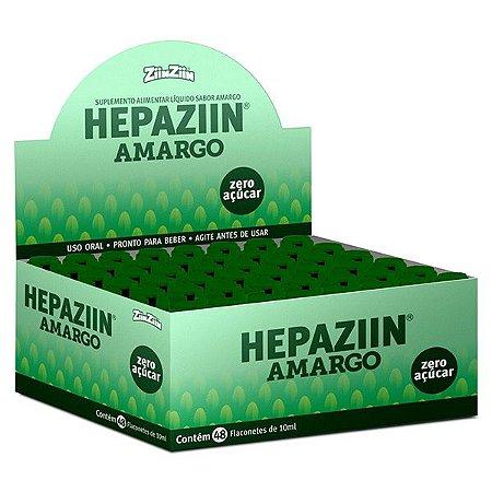 Display Hepaziin Amargo 48 flaconetes de 10ml cada