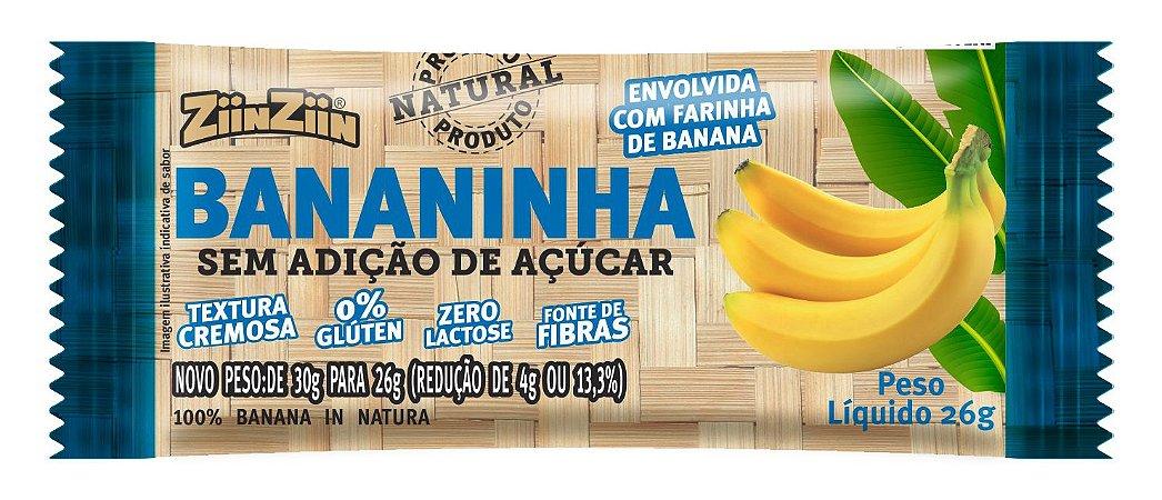 Bananinha sem Adição de Açúcar  - leve 12 pague 10 unidades.