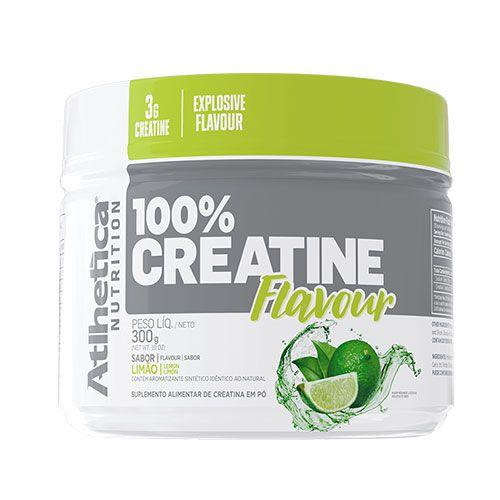 100% CREATINE FLAVOUR - 300G - ATLHETICA NUTRITION