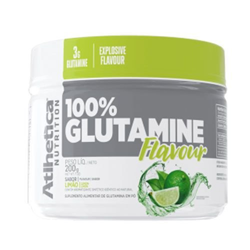 100% GLUTAMINE FLAVOUR -  200G - ATLHETICA NUTRITION