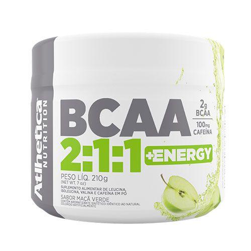 BCAA 2:1:1 + ENERGY - 210G - ATLHETICA NUTRITION