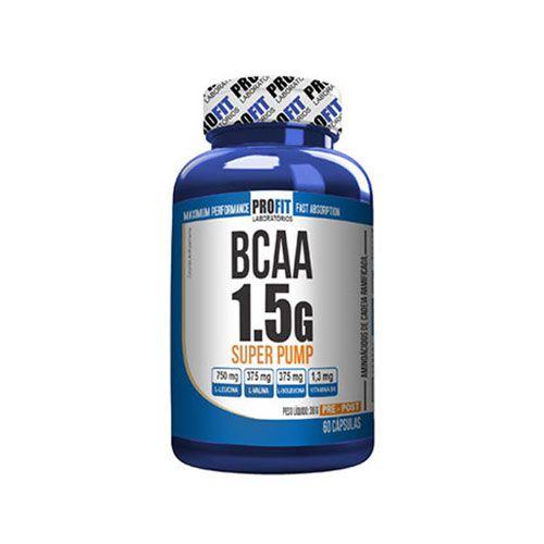 BCAA 1,5G SUPER PUMP - PROFIT LABORATÓRIOS