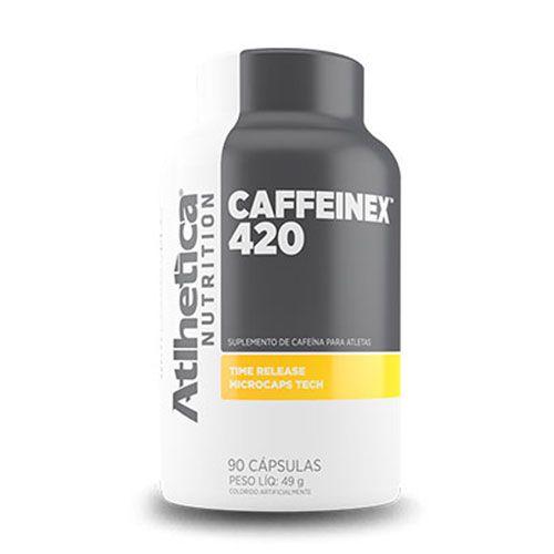 CAFFEINEX 420MG - 90 CÁPSULAS - ATLHETICA NUTRITION