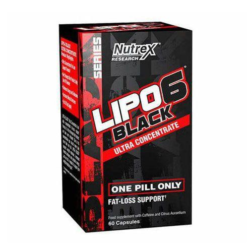 LIPO 6 BLACK ULTRA CONCENTRATE - 60 CÁPSULAS - NUTREX (IMPORTADO)