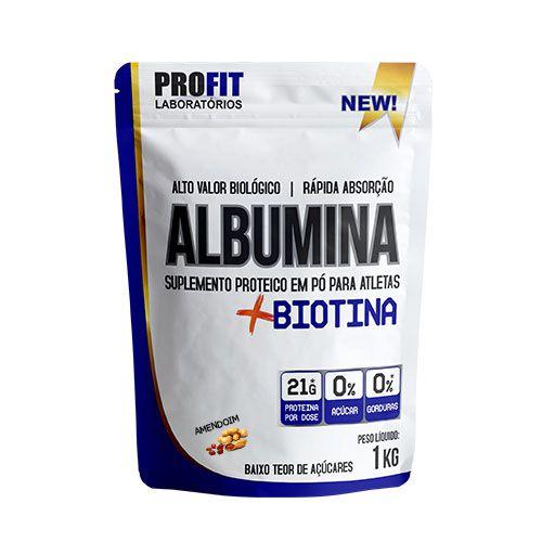 ALBUMINA + BIOTINA - 1KG - PROFIT LABORATÓRIOS
