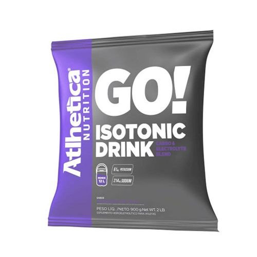 GO ISOTONIC DRINK - 900G - ATLHETICA NUTRITION