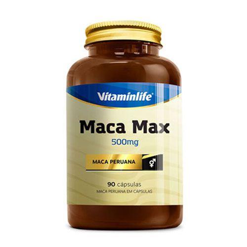 MACA MAX - 90 CÁPSULAS - VITAMIN LIFE