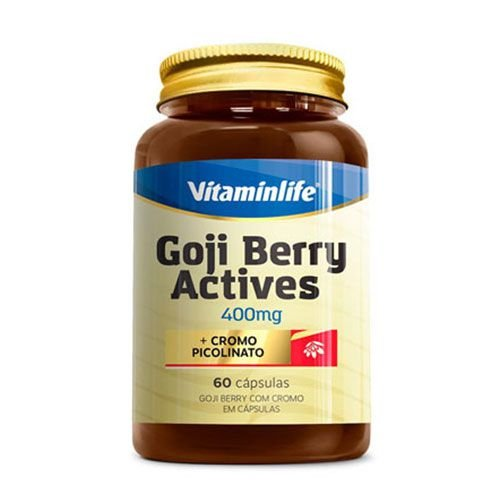 GOJI BERRY ACTIVES 400MG - 60 CÁPSULAS - VITAMIN LIFE