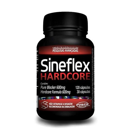SINEFLEX HARDCORE - 150 CÁPSULAS - POWER SUPPLEMENTS