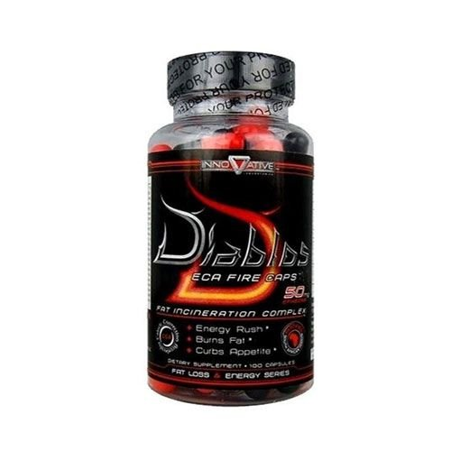 DIABLOS ECA FIRE - 100 CÁPSULAS - INNOVATIVE DIET LABS (IMPORTADO)