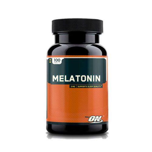 MELATONIN 3MG - 100 TABLETES - OPTIMUM NUTRITION