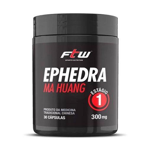 EPHEDRA MA HUANG 300MG - 30 CÁPSULAS - FTW SPORTS NUTRITION