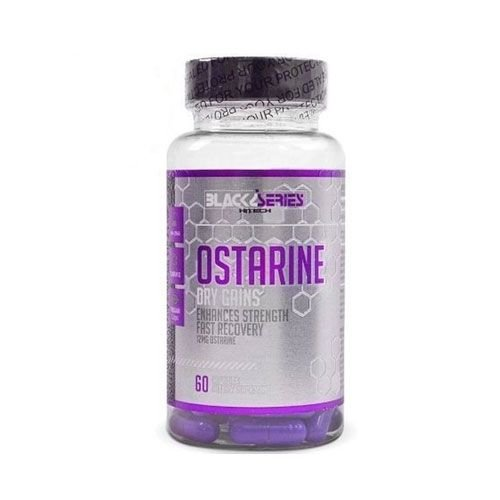 OSTARINE 12MG - 60 CÁPSULAS - BLACK SERIES HITECH