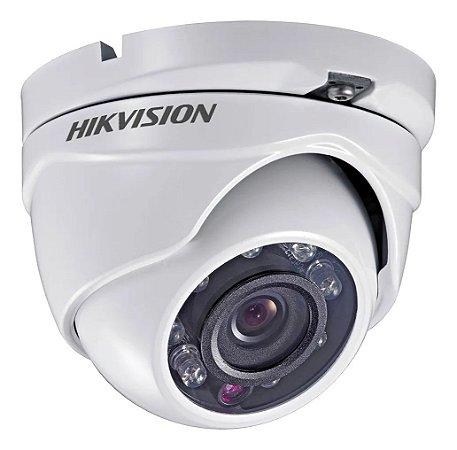 Câmera Segurança Dome 4x1 720P Hikvision DS-2CE56C0T-IRMF
