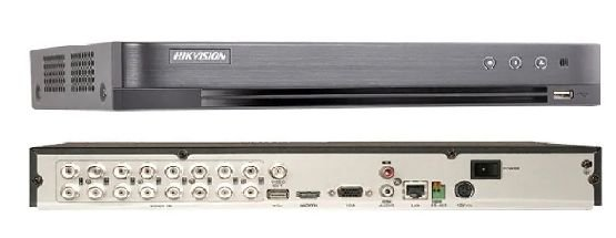 DVR Hikvision Turbo HD 5 em 1 16ch 3MP 1080P DS-7216HQHI-K1