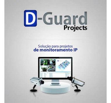 Licença D-Guard Projects Conexão NVR 32