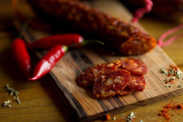 Linguiça tipo Chorizo Espanhol Picante - Pirineus