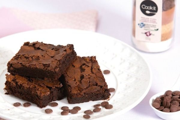 Brownie Chocolate Fudge - Cookt It
