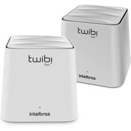 Roteador Wireless Mesh Twibi Fast Intelbras 2 Antenas Internas Dual Band 2 Unidades