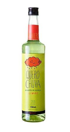 COQUETEL DE CACHAÇA COM LIMÃO - QUERO CHUVA - 700ml