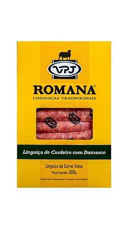 LINGUIÇA ROMANA DE CORDEIRO COM DAMASCO - VPJ - 500g