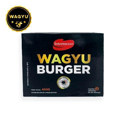 BURGER 100% WAGYU 2un- INTERMEZZO - 400g