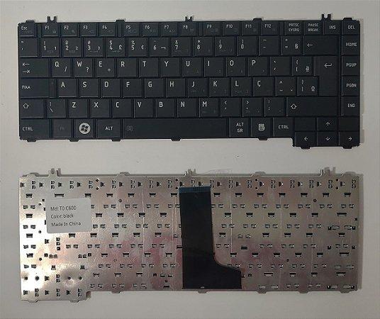 Teclado Toshiba C600