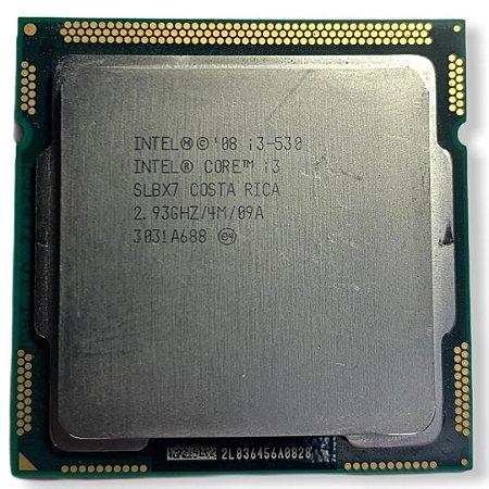 PROCESSADOR INTEL CORE I3-530 2.93GHZ (LGA 1156 - H55)