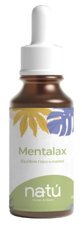 Floral Mentalax 30ml - 100% Natural (Cansaço Fisico e Mental)