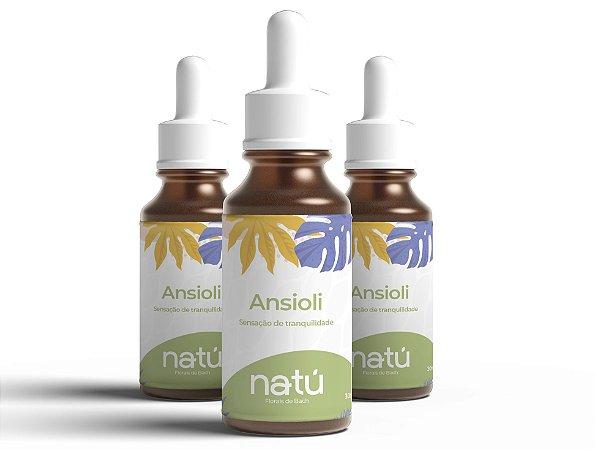 Floral Ansioli Kit Tratamento 3 meses (Ansiedade)