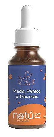 Floral Pet - (Medo, Pânico e Traumas) Cão e Gato