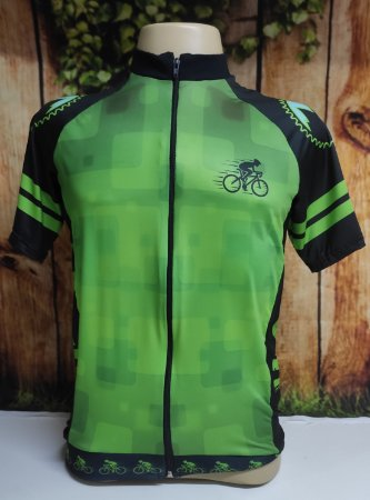 Camisa Ciclista Unissex Brasil, Ziper total - 0CAM1500-TSP004