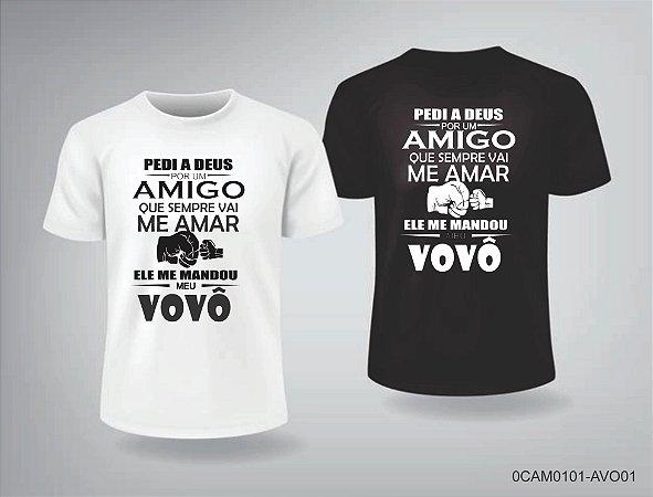 Camiseta Dia dos Pais e Vovô - 1CAM0101-AVO01