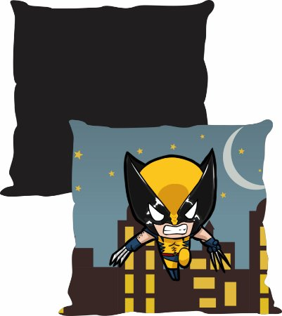 Almofada Heroi baby - Wolverine